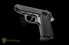 Maruzen PPK/S (New / Black) (Licensed by Umarex / Walther)