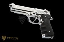 Tokyo Marui M92F Chrome Stainless Finishing Model